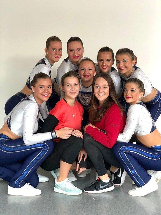 MČR aerobik 2019. Dancers Kladno juniorky