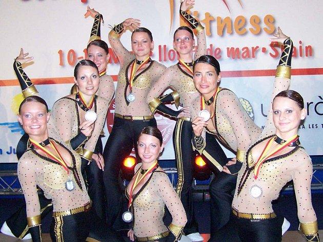 Dancers klub Kladno vybojoval ve Španělsku stříbrné medaile.
