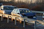 Nehoda 6 aut u Kladna