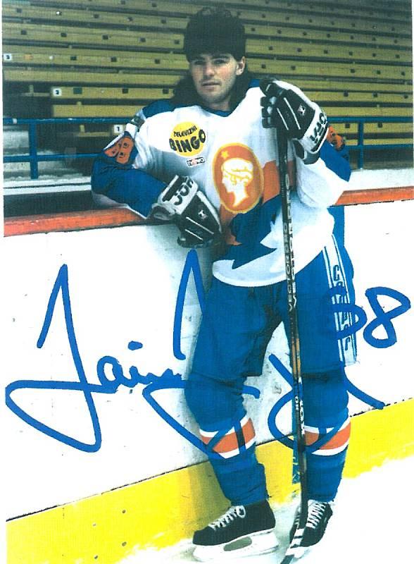 Jaromír Jágr při stávce v NHL v roce 1994 posílil Kladno.