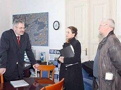 Daniela Javorčeková na jednom z jednání kvůli buštěhradskému pivovaru, která se konala už před časem