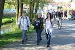 Na trasy jubilejního 25. ročníku Družecké šlápoty se vydalo přes pět set turistů.