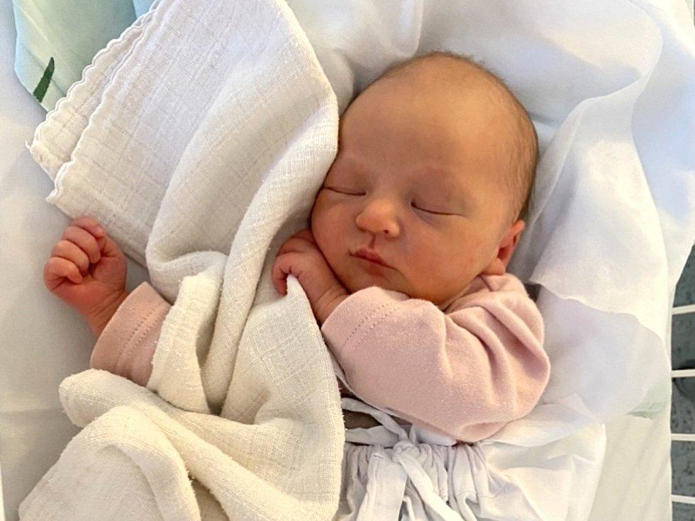 Sofie Bártová, Kladno. Narodila se 28. prosince 2020. Po porodu vážila 2,89 kg a měřila 48 cm. Rodiče jsou Monika Rezková a Jakub Bárta.
