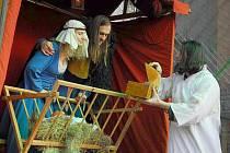 Návštěvníci hradu Červený Újezd zhlednou v neděli 4. prosince mimo jiné středověkou hru O narození Krista.