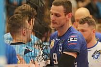 Kladno volejbal cz -VK Ostrava 2:3, Extraliga volejbalu, série o bronz , Kladno, 18. 4. 2019