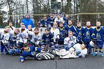 Hokejbalová benefice fanoušků na podporu kladenské hokejové mládeže - Kladno sobě!