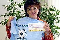 Alena Krýsová z Kolče, vítězka 13. kola Fortuna ligy.