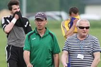 Sokol Hostouň - SK Lhota 2:1, trenéři Martin Čurda a Petr Cais.