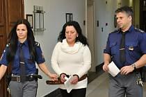 Desetiletý trest za vraždu partnera potvrdil ve středu odvolací senát Vrchního soudu v Praze Alžbětě Zahradníkové z Kladna.