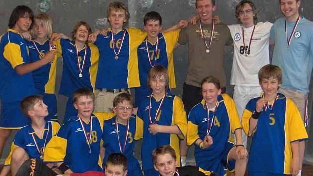 Mladšeí žáci Kladna byli v sezoně hodně úspěšní