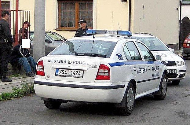 Obyvatelé chytili zloděje při činu.