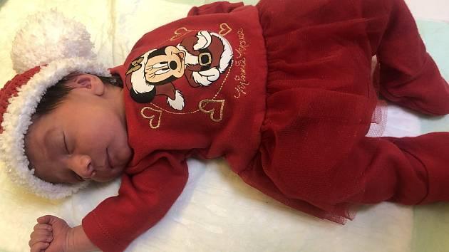 Tereza Veverková se narodila 22. prosince 2020 v 11:49 v porodnici U slunečné brány v Hořovicích. Po porodu vážila 2480 g a měřila 45 cm. Doma v Drozdově na ni čekal bráška Karel. Šťastnými rodiči jsou Tereza a Pavel Veverkovi.