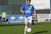 Kapitán Kladna Jan Procházka // SK Kladno - MFK Karviná  0:1 (0:1)  , utkání 20.k. 2. ligy 2010/11, hráno 4.4.2011