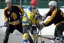 Hokejbalisté Junglu sehráli dvě dob ré partie a mají první body.