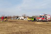 Na motokrosové trati ve Slaném došlo 9. února 2020 k úrazu.