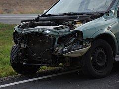 Nehoda mezi Smečnem a Kačicí si vyžádala těžké zranění