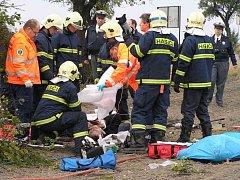 K tragické nehodě došlo mezi Kladnem a Pchery