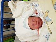 MATYÁŠ LISEC, KMETINĚVES. Narodil se 7. prosince 2018. Po porodu vážil 2,65 kg a měřil 48 cm. Rodiče jsou Michaela Bečvářová a Martin Lisec. (porodnice Slaný)