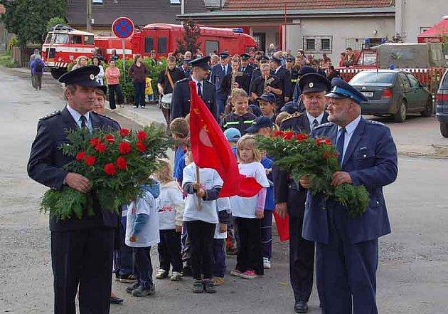 Oslavy založení HZS Stehelčeves