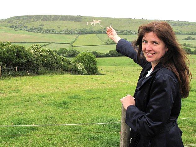 NA TŘÍLETÝ POBYT V ANGLII má Marta Alterová spoustu krásných vzpomínek.