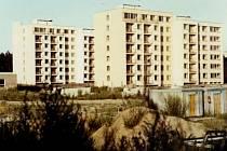 Sídliště bylo postaveno v blízkosti bývalého dolu Engerth.