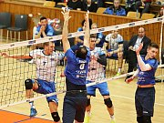 Kladno volejbal cz - Aero Odolena Voda 3:0, Extraliga volejbalu - čtvrtfinále, Kladno, 15. 3. 2017