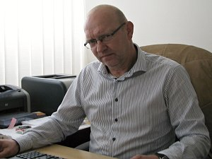 Miroslav Liba, předseda středočeského krajského fotbalového svazu.
