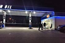 Pobodání muže v Kladně na čerpací stanici řeší kriminálka