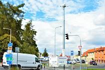 První mobilní kamera hlídá v Kladně u zimáku.
