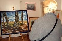 Obrazy Zdeňka Černého jsou k vidění v muzeu.