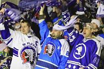 A plzeňský kotel slavil a slavil .. // HC Rytíři Kladno - HC Plzeň 1929  2:7, O2  ELH 2011/12, hráno 8.1.2012