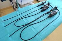 Nové přístroje pro plicní oddělení - videobronchoskop.