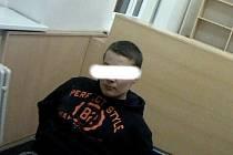 Devatenáctiletý mladík nadával policistům