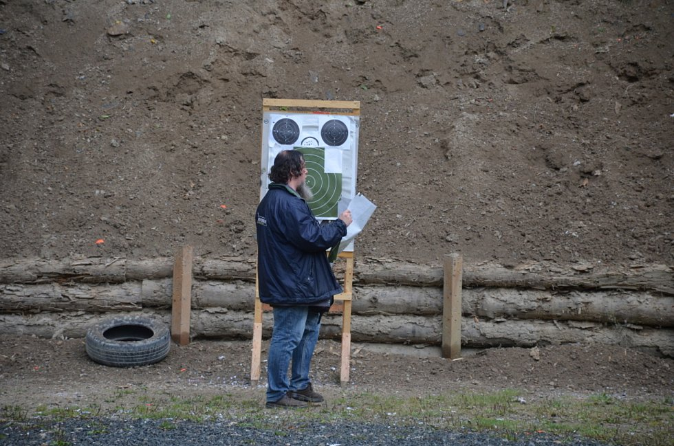 Střelecká soutěž v Rudě.