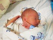 FILIP ŠNAJBERK, ZLONICE. Narodil se 15. ledna 2018. Po porodu vážil 2,98 kg a měřil 48 cm. Rodiče jsou Pavlína a Filip Šnajberkovi. (porodnice Slaný)