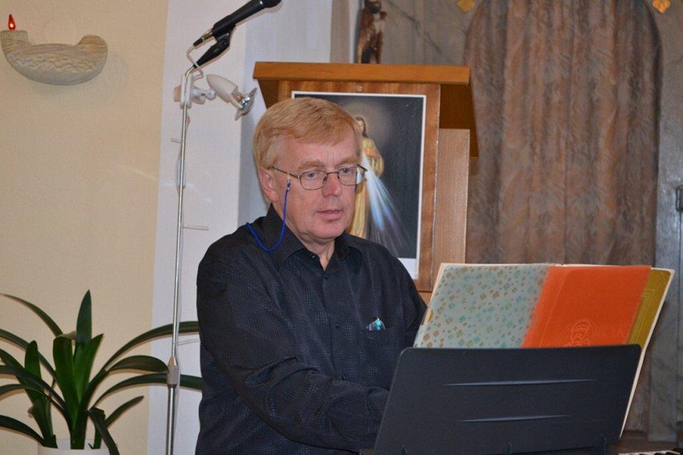 Varhaník profesor Jan Kalfus.