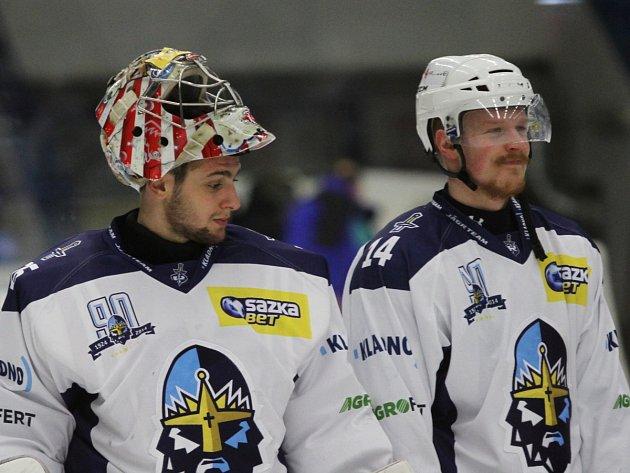 Lukáš a Lukáč .... // Rytíři Kladno – HC Slovan Ústečtí lvi 6:1, 1. hokejová liga 2014-15 / 10. 1. 2015
