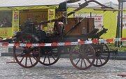 Na historickou stříkačku jsou v Unhošti právem hrdi. Je navíc stále funkční z roku 1923.