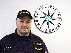Vedoucí policejních kladenských psovodů Michal Štěpán.