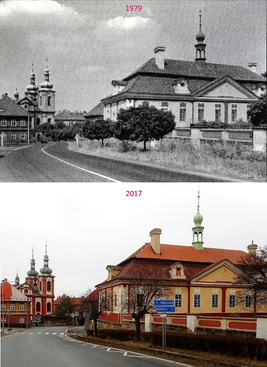 Komenského ulice.