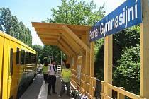 Na dva týdny. Provizorní zastávka Gymnasijní bude opět v permanenci od soboty 23. dubna až do 9. května