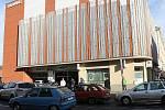 Automatický parkovací dům ve Slaném