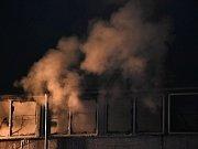 Požár ve firmě Rumpold v Kamenných Žehrovicích