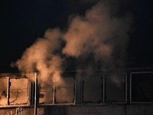 Požár v Kamenných Žehrovicích