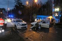 Vážná nehoda se stala ve středu ráno.