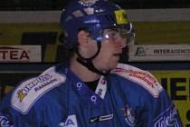 Ondřej Šmach vstřelil ve Znojmě první gól Kladna.