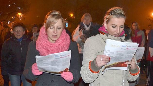 Česko zpívá koledy 2013 - Lány.