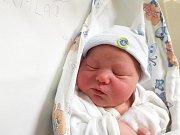 JAN KALAŠ, SLANÝ. Narodil se 23. ledna 2018. Po porodu vážil 3,68 kg a měřil 52 cm. Rodiče jsou Dagmar Kylíšková a Jiří Kalaš. (porodnice Slaný)