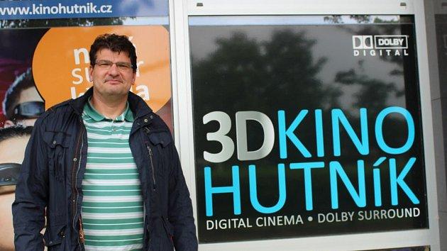 Pavel Volf kino Hutník provozuje spolu se svým bratrem Vojtěchem.