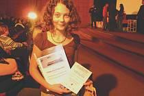 Rozálie Kotyková vyhrála jednu z hlavních soutěží